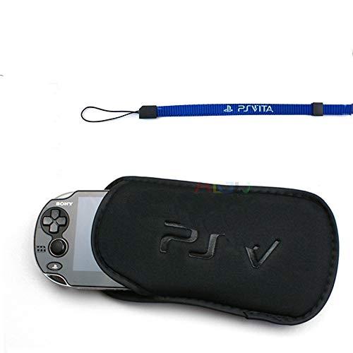 2 in 1 Screen Protector Soft Bag Shell Protector for Sony PSV Console Sponge Bag Game PS Vita 1000 2000 Slim PSVITA Case