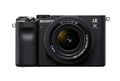 Sony Alpha 7C Full-Frame Compact Mirrorless Camera Kit - Black (ILCE7CL/B)