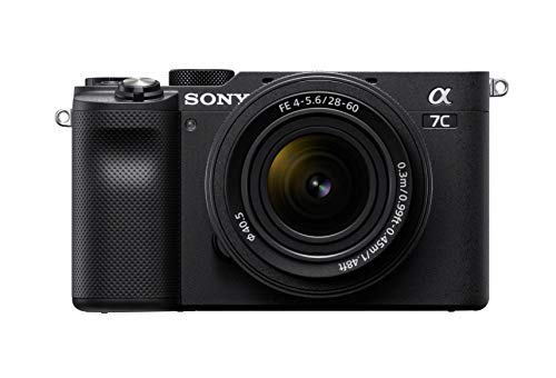 Sony Alpha 7C Full-Frame Compact Mirrorless Camera Kit - Black