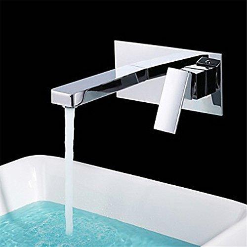 WasserhahnTap Cuivre matériel sans Plomb caché Chaud Froid Bassin d'eau Robinet Robinet de lavabo Art