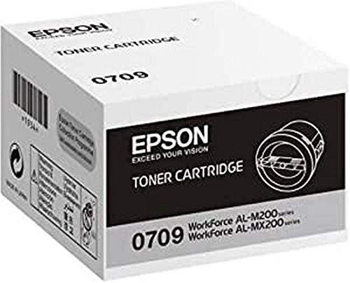 Epson C13S050709 - Cartucho de tóner para Epson AL-M200/MX200, negro
