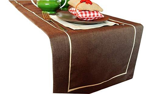 FK-lampen tafelloper Art - Deco linnenlook loper tafelband maat + kleur naar keuze top design