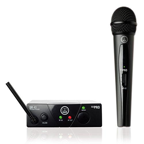 AKG WMS40 Minisistema Vocal inalámbrico, ISM2/CH70