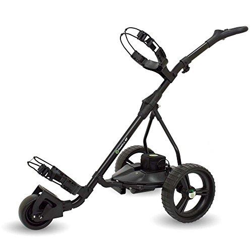 PowerBug GT Tour - Carrito de Golf eléctrico (Litio), Color Negro