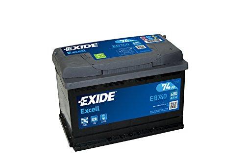 Exide EB740 EXCELL STARTERBATTERIE 12V 74AH 680A