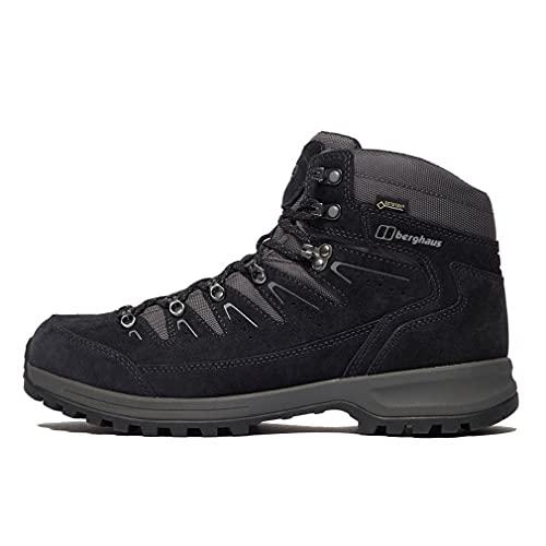 Berghaus Explorer Trek Gore-tex Tech Boot, Chaussures de Randonnée Hautes Homme, Bleu (Navy/Grey N10), 46.5 EU