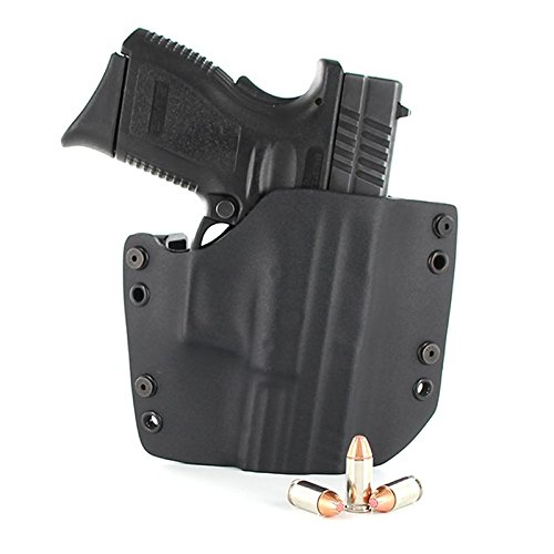 OWB Holster - Black (Left-Hand, 1911-22/380 Cal Small Frame)