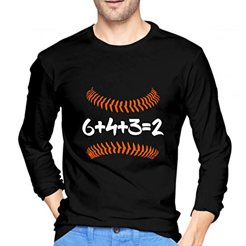 Teen Girls Printed Long Sleeves Black MiiyarHome Womens Long Sleeve T-Shirts Pom Dog Tee