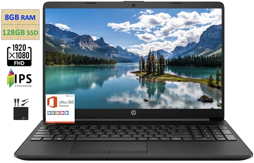 "2021 Newest HP 15.6"" FHD IPS Anti-Glare Thin Laptop Computer,Intel Celeron N4020..."