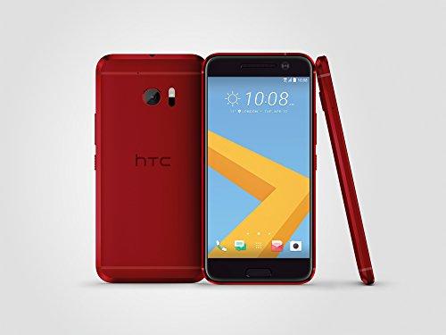 HTC 10 32GB ROM 4GB RAM 5.2-Inch 12MP 4G LTE Factory Unlocked International Stock No Warranty (RED)