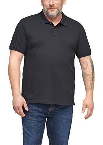 s.Oliver Big Size Herren Poloshirt aus Baumwolle dark grey 3XL