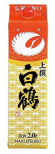 白鶴酒造『上撰 白鶴 サケパック』