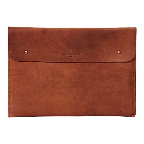 HOLZRICHTER Berlin 13' Leather Case - Premium Laptop Sleeve MacBook Bag