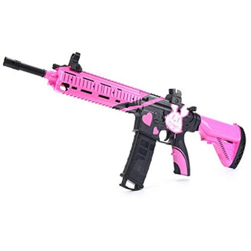 M4A1 Pistola de Agua Balas de Agua Pistola Juguetes para niños Sniper de plástico Soft Paintball CS Juegos Niños al Aire Libre Arma Pistolas de Juguete,Rosado