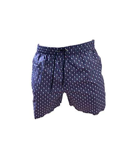 costume mare uomo napapijri Navigare Boxer Mare Costume Uomo Pantaloncini da Bagno Swim Short (Blu 998386