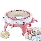 Knitting Machine, 48 Needles Knitting Loom Machine Kits with Row Counter, Smart Rotating Double...