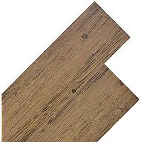 neu.holz Pisos de Vinilo-PVC Decorativo Dise/ño de Pisos laminados 42 planchas Decorativas = 5,85 m/² Suelo Autoadhesivo Roble Gris Alaska Grey Alaska Oak