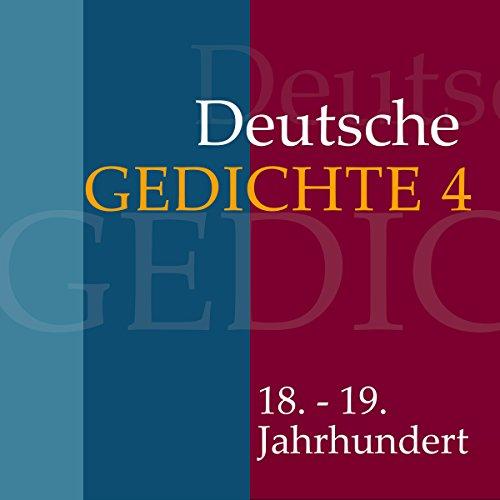 Deutsche Gedichte 4 - Gedichte aus Klassik und Romantik Titelbild