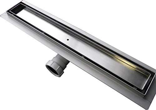 Edelstahl-Duschrinne GT01 für Duschkabine befliesbar - Länge wählbar, Länge Duschrinne:700mm
