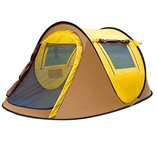 Carpa para camping Pop Up Impermeable Tienda de campaña familiar instantánea Resistente al agua portátil Protección UV protegida con bolsa de transporte for mochileros Picnic Pesca Playa Al aire libre