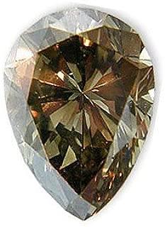 Fancy Light Grayish Brown Diamond 1.15 carats
