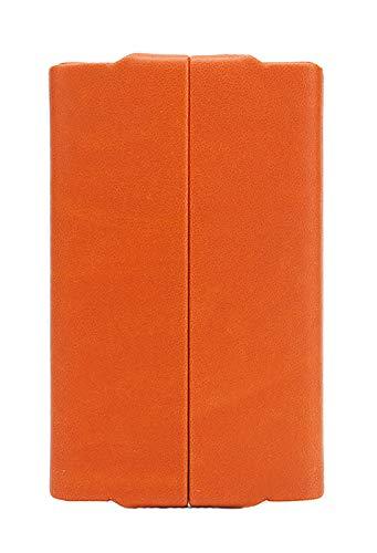 Fedon 1919 Classica Hard Cover Business Card Holder Uo1930007 Orange