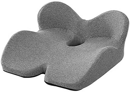 NCRD Seat Cushion, Office Chair Seat Cushion for Back, Coccyx, Tailbone Pain Relief, Coccyx Seat Cushion Sciatica Butt Pillow Perfect for Desk Chair, Wheelchair, Car
