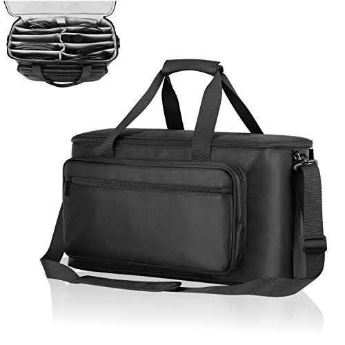 BUBM Travel Gig Bag with Handle Cable File Bag Musical Instrument Accessories Organizer Laptop Bag for 13inch MacBook.