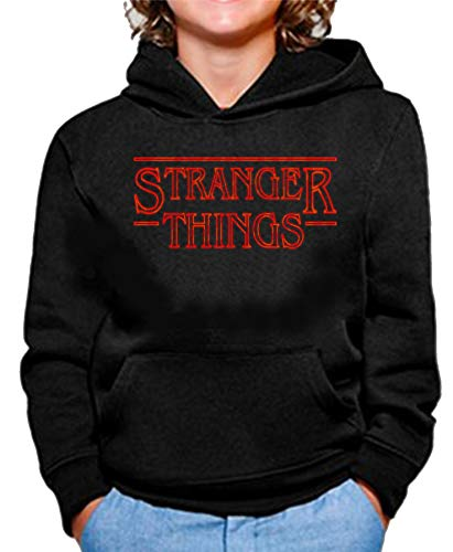 Sudadera de NIÑOS Stranger Things Once Series Retro 80 Elev