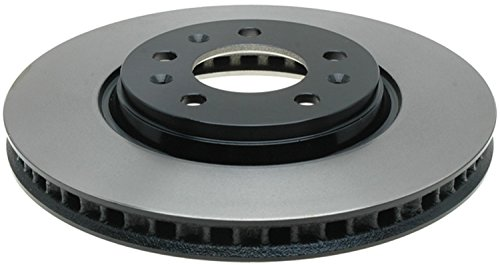 ACDelco Gold 18A2432 Black Hat Front Disc Brake Rotor