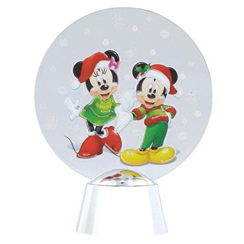 Department 56 Disney- Décoration-Mickey et Minnie Holidazzler-D27, 4058010