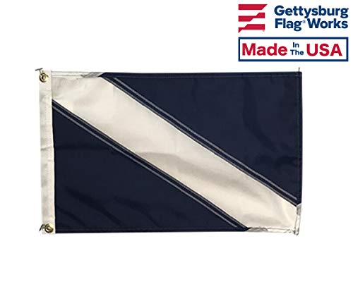 12x18 Guest (Receiving Guests) Nautical Boat Signal Flag, Made in USA
