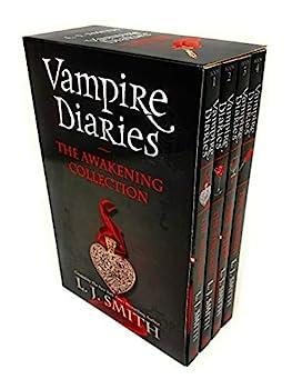 Vampire Diaries 4 Books The Awakening Collection Box Set by L J Smith  The Awakening The Struggle The Fury & The Reunion