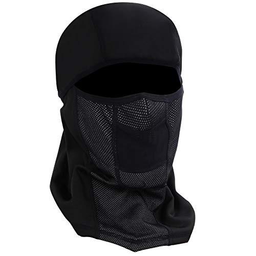 Winter Face Mask for Men amp Women Balaclava Ski Mask Cold Weather Gear Black