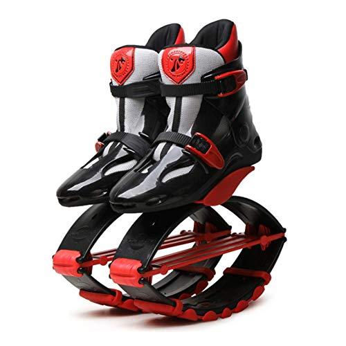 Instag Zapatos de Salto de Canguro Rebote Zapatos de Ejercicio físico Zapatos rebotando Botas antigravedad Ejecución de Rebote Zapato Sauter para Adultos Niño,XL