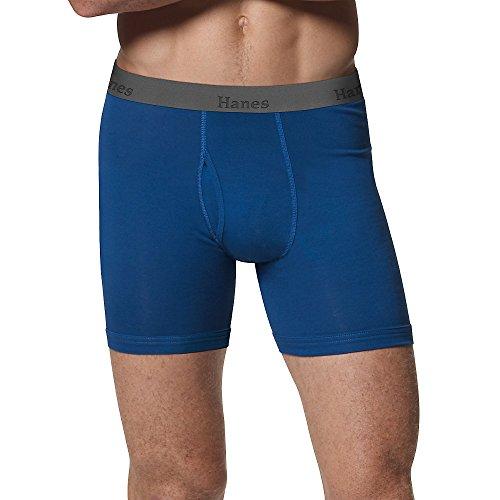 Hanes Herren Boxershorts Comfort Flex Bund sortiert 3er Pack - - Medium