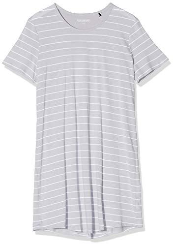 Schiesser Damen Sleepshirt 1/2 Arm, 90Cm Nachthemd, Grau (hellgrau 204), 42 (Herstellergröße:042)