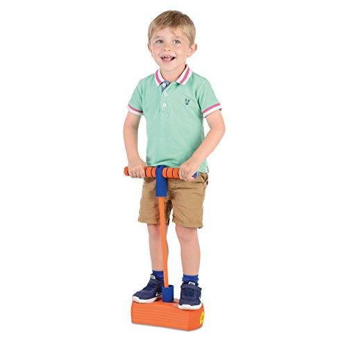 Jump 'N' Bounce TY5973 Bungee Hopper weicher Pogo-Stick, Orange