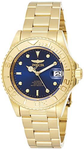 Invicta Relógio masculino automático Pro Diver 40 mm dourado em aço inoxidável, dourado (modelo: 26997)