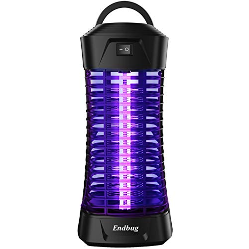 Electric Bug Zapper, Powerful Insect Killer, Mosquito Zappers lamp, UV Bug Light Flying Fly Trap for Indoor