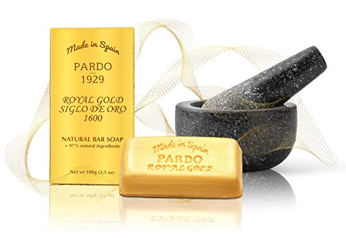 Jabón Pardo Royal Gold- 100 gr