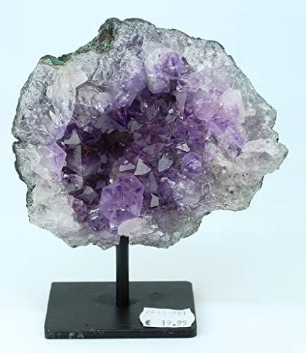 Preciosa Geoda de Amatista/Drusa Natural del Brasil - Calidad Extra/Medidas: 0,630 KG - 15 x 12 x 5 CM