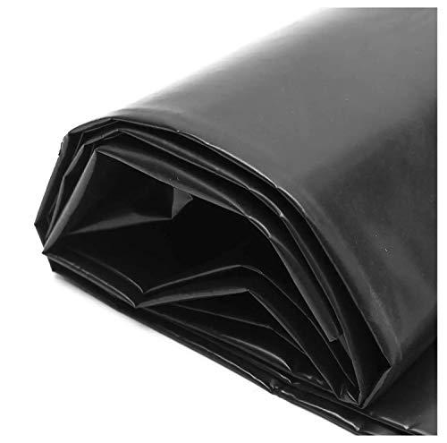 SSYBDUAN 6.6×9.8ft HDPE Gummi Teichfolie Schutzunterlage Flexible Vorgeschnittene Liner Teichfolien Für Kleine Teiche Koi Teiche Wassergärten Brunnen Gartenpoolmembran 0.4mm/0.2mm