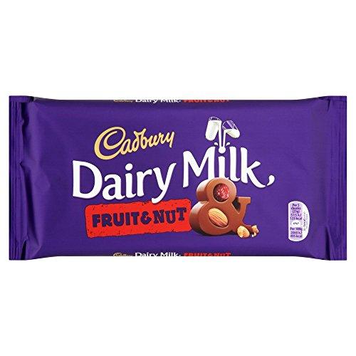 Cadbury Dairy Milk Fruit & Nut Chocolate Bar, 200 g