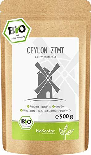 BIO Ceylon Zimt - fein gemahlen - 100{aee34a2590129f89fea36805c2d679c8a64d8898239bb47d42b045246602d9ee} Bio - bioKontor - 500g
