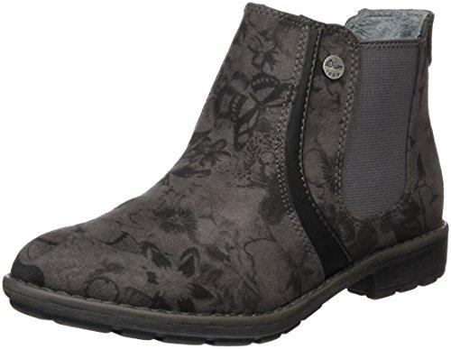 s.Oliver Mädchen 45434 Chelsea Boots, Grau (Grey Multi 299), 35 EU