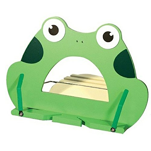 Animal BookStand angle adjustable and Portable Reading Stand Book Tablet PC ipad stand Document Holder Best Gift for kids (Frog)