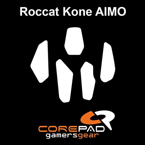 Corepad Skatez PRO 121 Ersatz Mausfüße Replacement Mouse Feet Roccat Kone Aimo