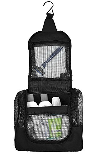 The Fine Living Company USA - Shower Caddy Tote Case to Hang in The Shower - Portable and Ideal for Dorm, Camp, Travelling, Gym