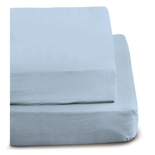 Irisette 0006_23_148697 Merkur, Biber-Betttuch, 150 x 250 cm, blau
